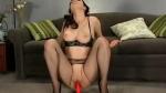 Stunning model posing in sexy pantyhose